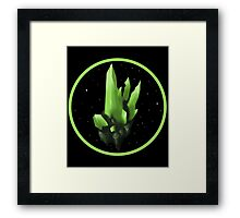 KRYPTONITE Framed Print