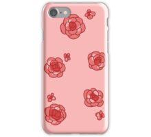 rose stickers iPhone Case/Skin