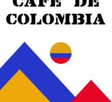 Retro Jerseys Collection - Cafe de Colombia Sticker
