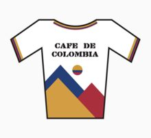 Retro Jerseys Collection - Cafe de Colombia Kids Tee