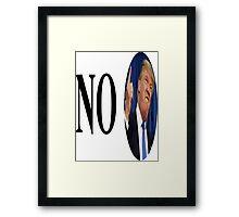 no trump Framed Print