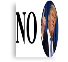 no trump Canvas Print