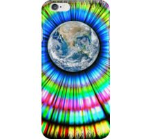 rainbow aura iPhone Case/Skin