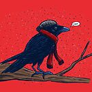 Annoyed IL Birds: The Crow by nickv47