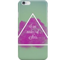 Made of stars * Hipster background iPhone Case/Skin