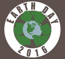 Earth Day Recycle 2016 One Piece - Short Sleeve