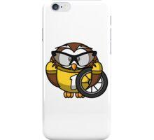 Cyclist Owl iPhone Case/Skin
