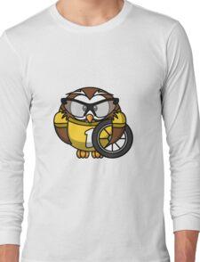 Cyclist Owl Long Sleeve T-Shirt