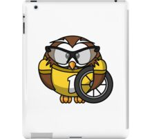 Cyclist Owl iPad Case/Skin