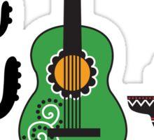 Crazy Mexicano Sticker