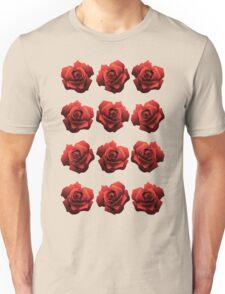 A Dozen Red Roses Unisex T-Shirt