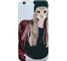 Hipster Ginger Kitten iPhone Case/Skin