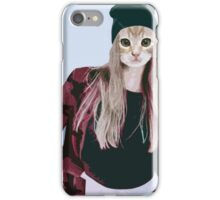 Hipster Ginger Kitten iPhone Case/Skin
