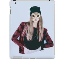 Hipster Ginger Kitten iPad Case/Skin