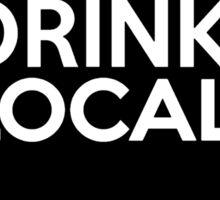 Wisconsin Drink Local WI Sticker
