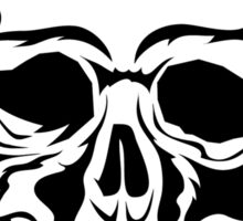 Tattoo Skull Illustration Sticker