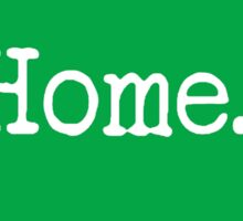 Wisconsin Home WI Green Sticker