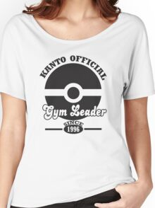 Pokemon Kanto Official Gym Leader Women's Relaxed Fit T-Shirt