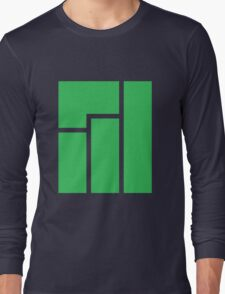 Manjaro logo Long Sleeve T-Shirt