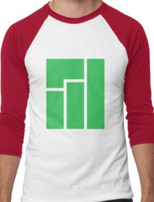 Manjaro logo Men's Baseball ¾ T-Shirt
