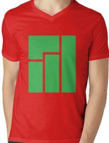 Manjaro logo Mens V-Neck T-Shirt