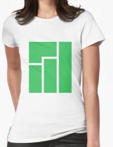 Manjaro logo Womens Fitted T-Shirt