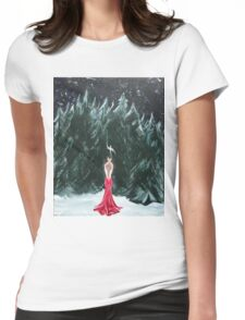 Anja (Little Bird) Womens Fitted T-Shirt