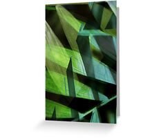 Jungle Dance - Abstract- Photograph Greeting Card