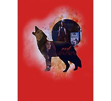 Red OUAT - Wolf Photographic Print