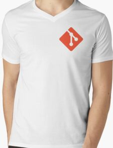 git Mens V-Neck T-Shirt