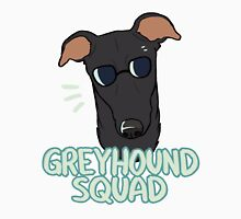 GREYHOUND SQUAD (black) Unisex T-Shirt