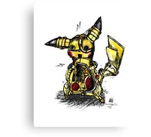 Steampunk Pikachu Canvas Print