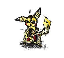Steampunk Pikachu Photographic Print