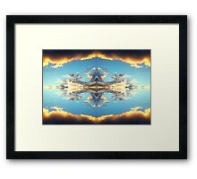Sky Kingdom Framed Print