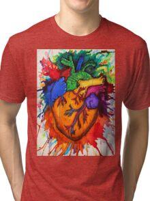 Can you feel my heart? Tri-blend T-Shirt