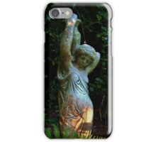 BRING ME BACK TO LIFE GOTHIC STATUE SUNSET iPhone Case/Skin