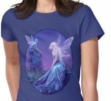 Luminescent Fairy & Dragon Art Womens Fitted T-Shirt