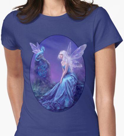 Luminescent Fairy & Dragon Art Womens Fitted T-Shirt
