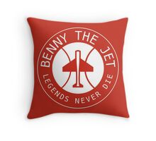 Benny The Jet Throw Pillow