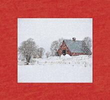 Idaho Falls Country Red Barn - Blizzard Tri-blend T-Shirt