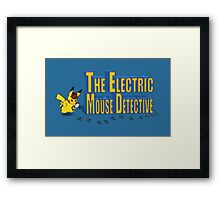 The Electric Mouse Detective Framed Print