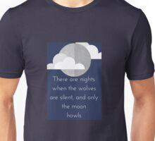 Moon Howl quote by George Carlin Unisex T-Shirt