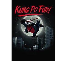 Kung Po Fury Photographic Print