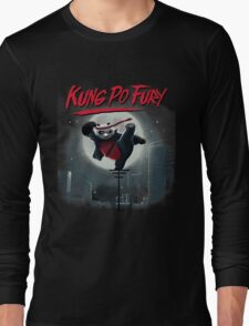Kung Po Fury Long Sleeve T-Shirt