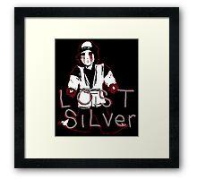 Lost Silver Color Version Framed Print