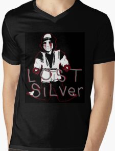 Lost Silver Color Version Mens V-Neck T-Shirt