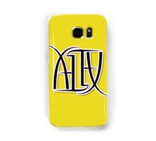 """Alex"" Ambigram (reversible image) Samsung Galaxy Case/Skin"