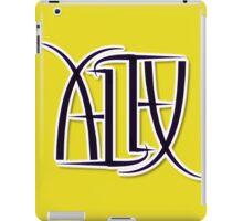 """Alex"" Ambigram (reversible image) iPad Case/Skin"