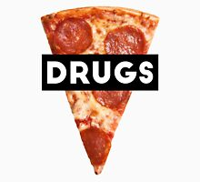 Drugs = Pizza Unisex T-Shirt