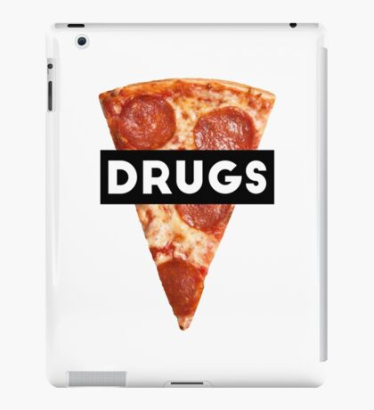 Drugs = Pizza iPad Case/Skin